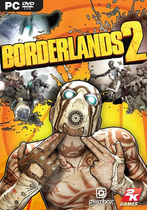 Borderlands 2 - Packshot